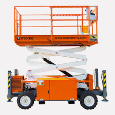 Our Range of Diesel Scissor Lifts for Hire in Adelaide by Ezyuphire